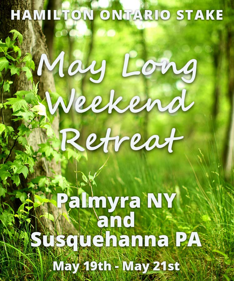May Long Weekend Retreat